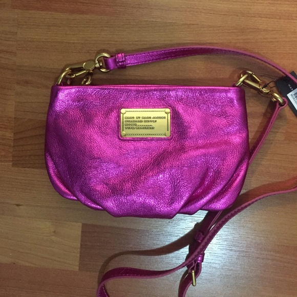 e3883c422f8 Marc By Marc Jacobs Bags | Nwt Cute Metallic Pink Purse | Poshmark